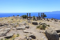 Ancient city of Assos awaits visitors to quiet, magnificient scenery