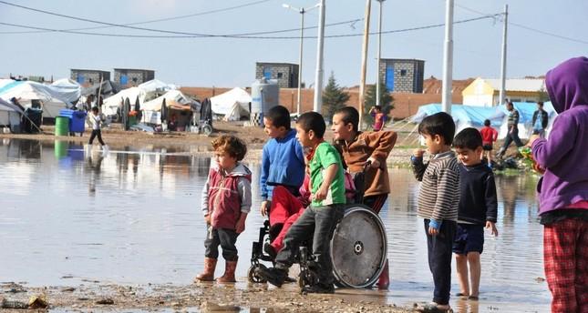 العراق.. مياه الأمطار تشرد مئات النازحين من مخيم ديبكة بمحافظة نينوى