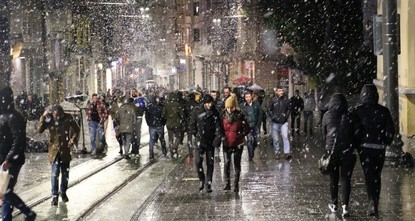 Snow warning issued for Istanbul