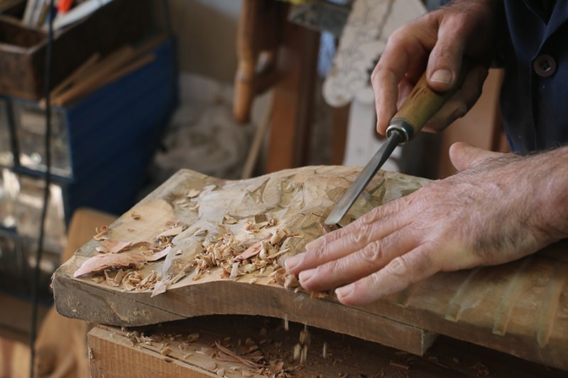 The wood carving art of Seljuks still lives in Turkey