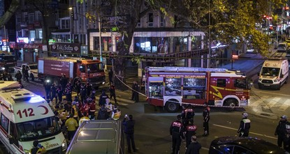 Gas explosion in Ankara leaves 7 injured