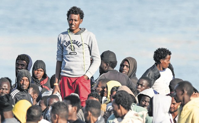 The EU's Mediterranean migrant crisis has escalated after Italy refused the entry of a rescue ship with 629 people aboard, June 9.