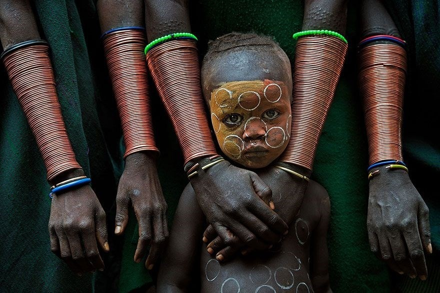 Kid With Hand Crafts, Ethiopia - 1st place in Fascinating Faces and Characters category