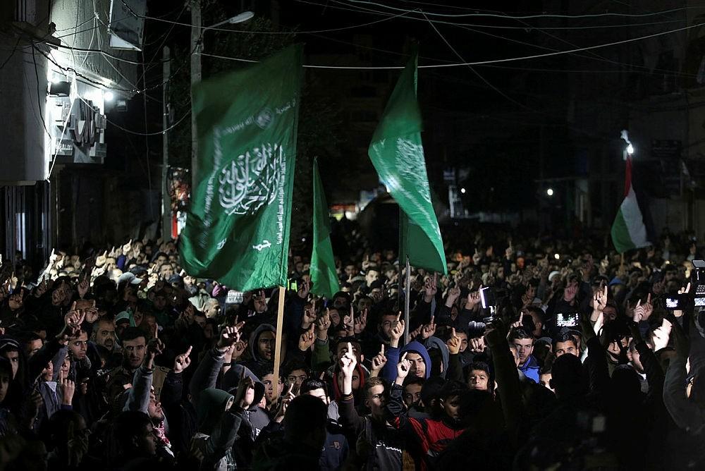 Protests in Gaza