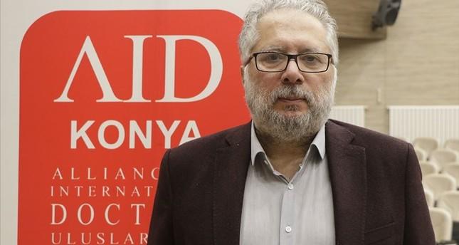 مولود يورت سفن رئيس رابطة الأطباء الدوليين التركية