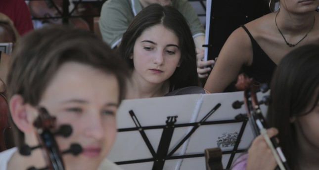 Athens hosts 'Music for Peace Foundation' students