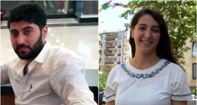Combination photo shows Mazlum Dağ (L) and his sister HDP deputy Dersim Dağ. (DHA Photos)