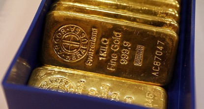 pA chest allegedly containing £100 million ($130 million) worth of Nazi gold was discovered by British treasure hunters off the coast of Iceland, media reported Saturday./p  pThe U.K.-based...