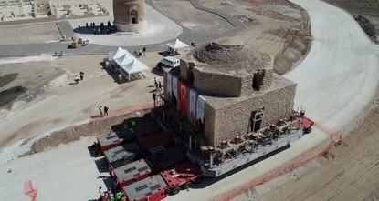 Hasankeyf: 800 Jahre altes Dampfbad zieht um