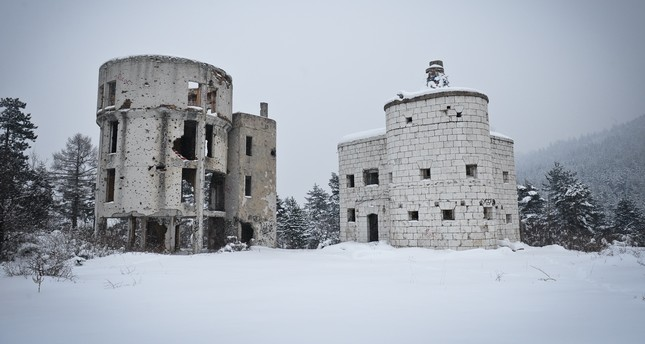 Colina Kapa Astronomical Observatory was once Bosnia's shining star in astronomy studies, but now, the building is empty, covered with bullet holes.