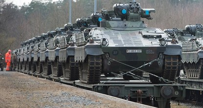 pGermany will increase its military to nearly 200,000 troops over the next seven years, the defense ministry said Tuesday, a day after US Vice President Mike Pence urged European allies to boost...
