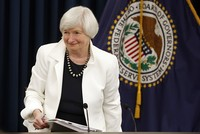 US dollar reverses gains as Yellen's last Fed meeting starts