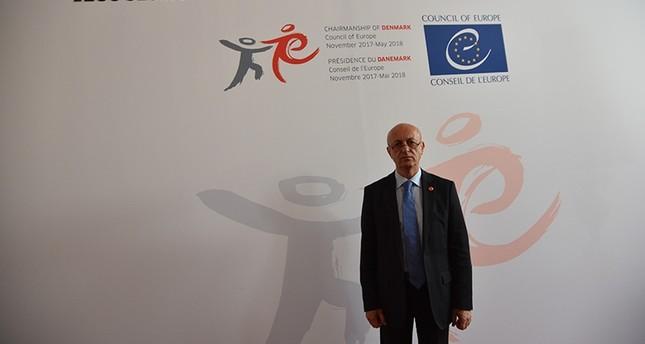 السفير التركي الدائم لدى المجلس  الأوروبي أردوغان إيشجان  (وكالة الأناضول للأنباء)