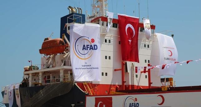 إدارة الكوارث والطوارئ التركية تقدم 810 ملايين دولار مساعدات لـ58 دولة
