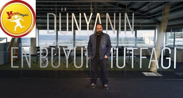 Yemeksepeti CEO and co-founder Nevzat Aydın