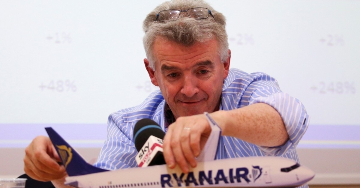 Ryanair CEO Micheal O'Leary attends a news conference in Rome, Italy, June 27, 2017 (Reuters File Photo)