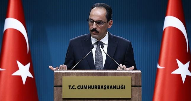 متحدث الرئاسة التركية: الإرهاب ومؤيدوه سيمنون بهزيمة فادحة