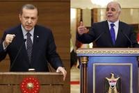 """Präsident Recep Tayyip Erdoğan und der irakische Ministerpräsident Haider al-Abadi besprachen am Montag die Pläne für ein Unabhängigkeitsreferendum der """"Autonomen Region Kurdistan"""