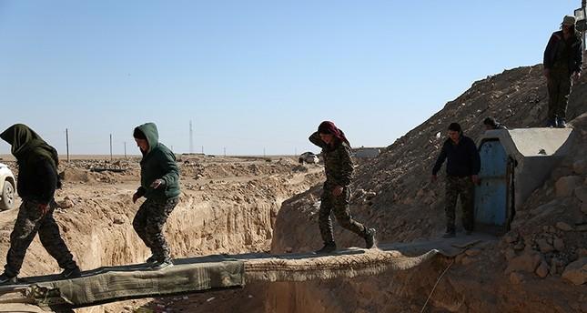 قوات سوريا الديمقراطية وب ي د يدخلان محافظة دير الزور لأول مرة