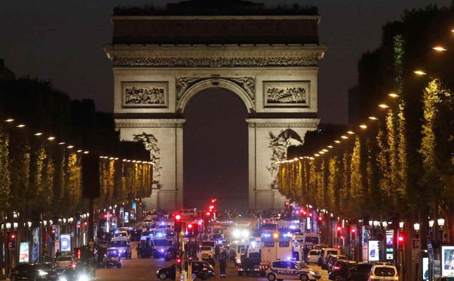 Daesh-claimed terror attack kills policeman in Paris' Champs Elysees